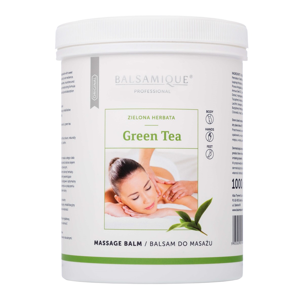 Balsam BALSAMIQUE® GREEN TEA 1000ml